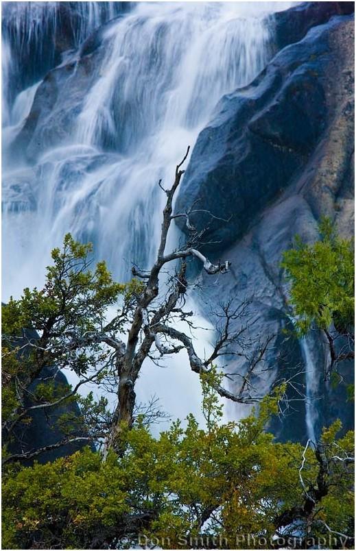 Upper falls of Cascade Creek