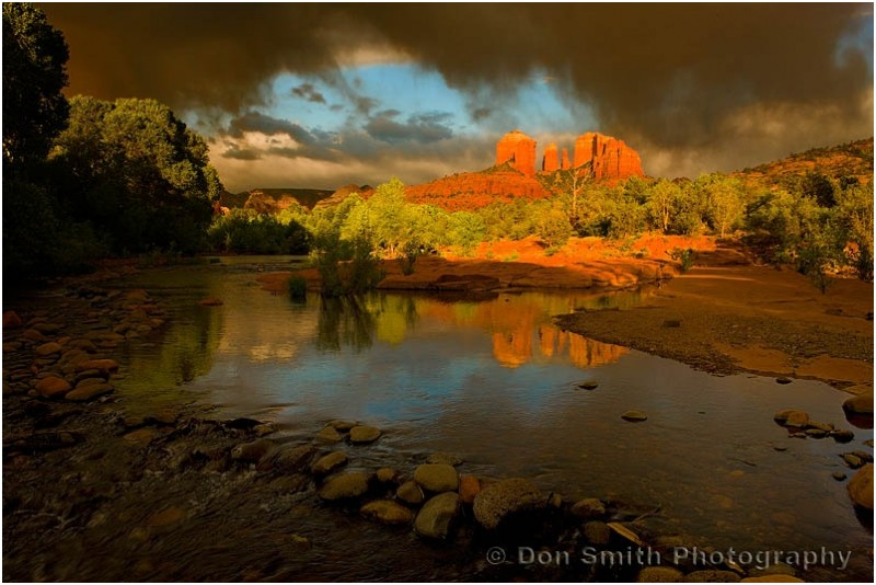 Cathedral Rocks and Oak Creek