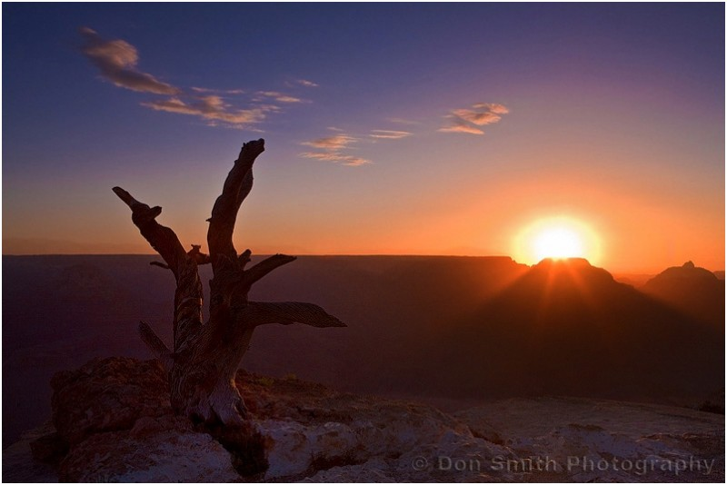 Sunrise at Yaki Point, Grand Canyon
