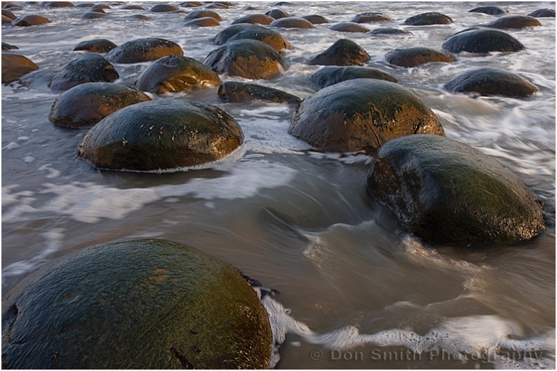 Low tide at Bowling Ball Beach, California