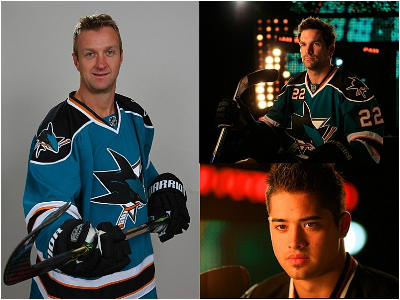 Images from San Jose Sharks Photo Day