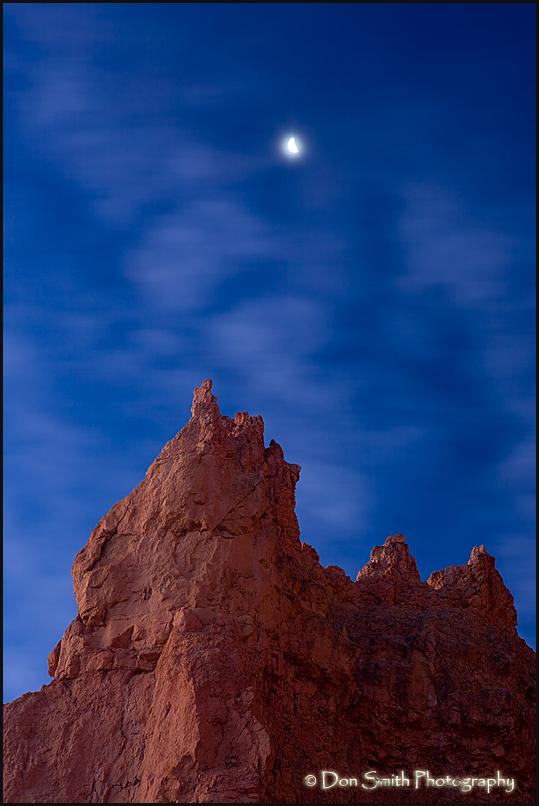 Half Moon Over Spire