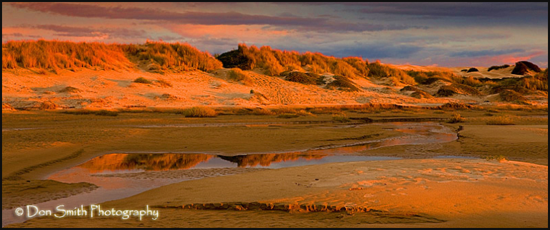 Last Light on Dunes