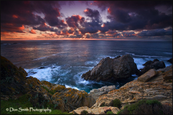Winter Sunset at Pt. Lobos
