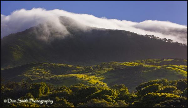 Wave of Fog Over Santa Lucia's