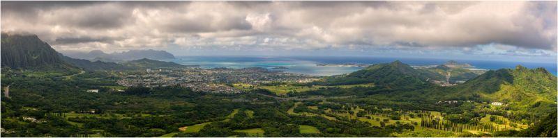 Nu'uanu Pali Lookout, Oahu, Hawaii
