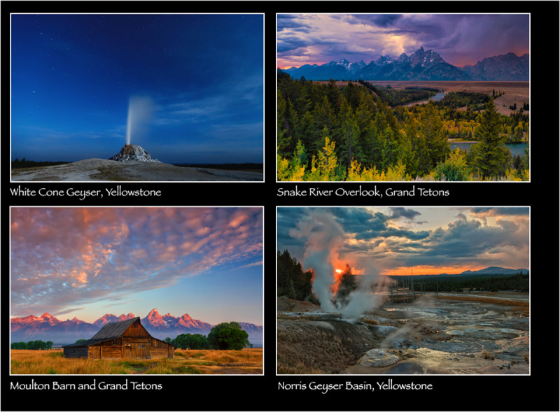 Grand Tetons/Yellowstone Photo Workshop, Sept 2012