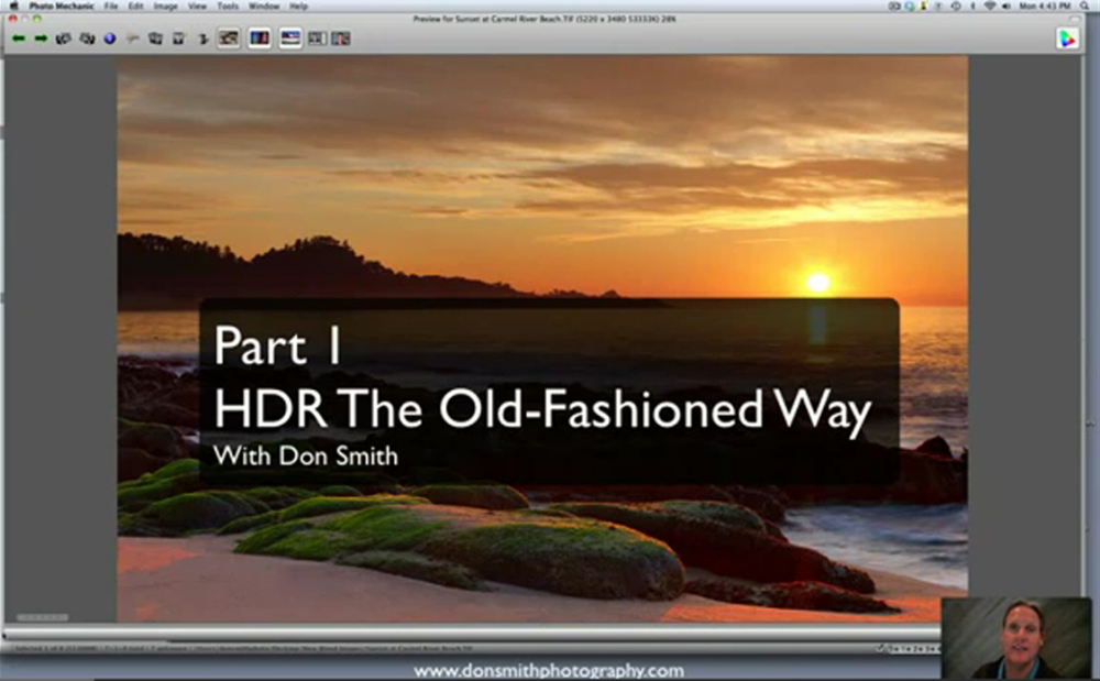 Video - HDR The Old-Fashioned Way With Don Smith