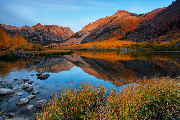 fall color at north lake, bishop canyon