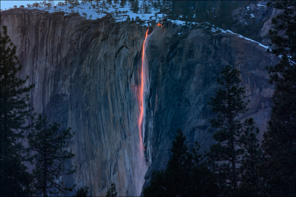 Horsetail Fall, Yosemite National Park