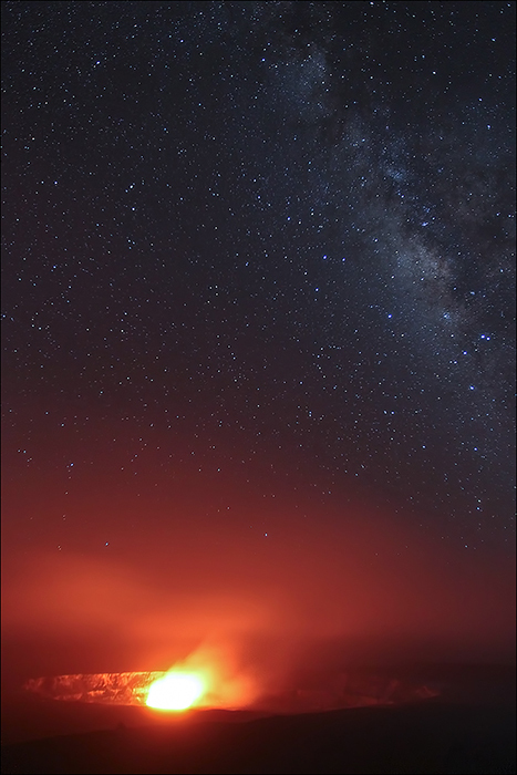 Kilauea Caldera, Hawaii, Volcanoes National Park