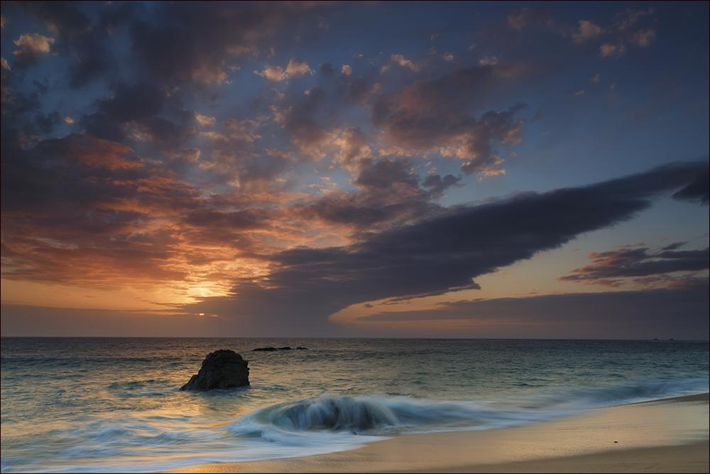 Garrpata State Beach sunet
