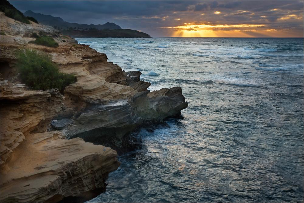Makawehi Point, Lithified Cliffs, Kauai