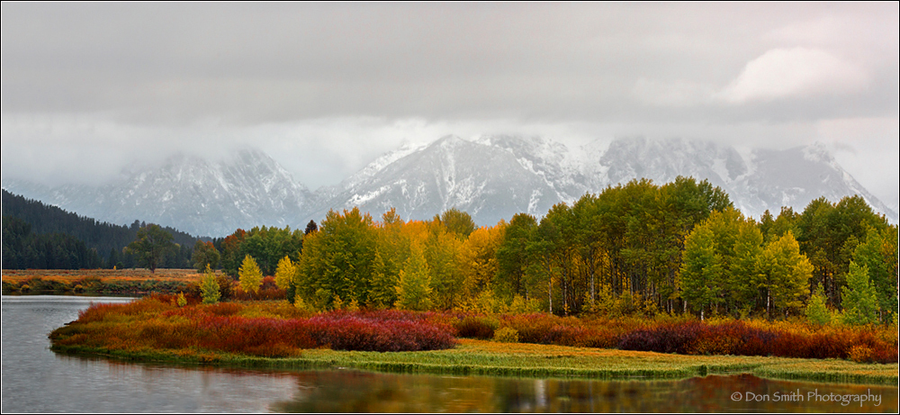 Clearing Storm at Oxbow Bend