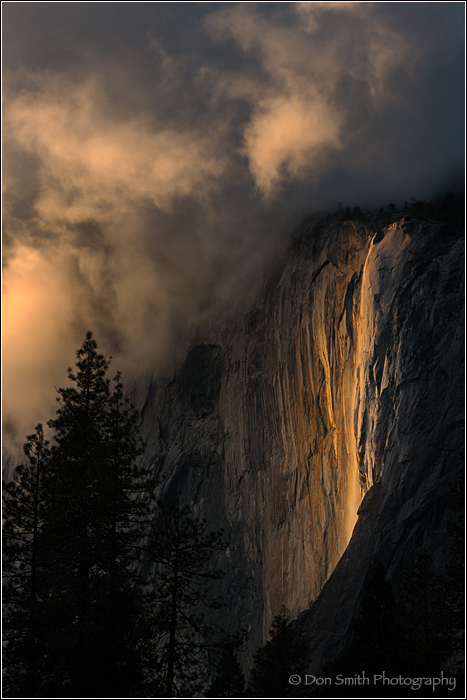 Horsetail Fall, Yosemite National Park, California