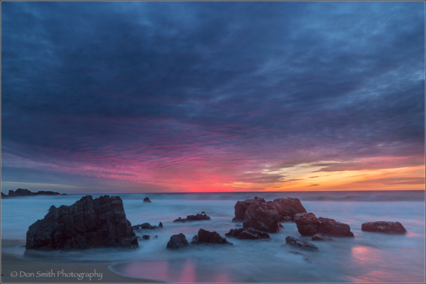 Garapatta State Beach, Big Sur coast, CA