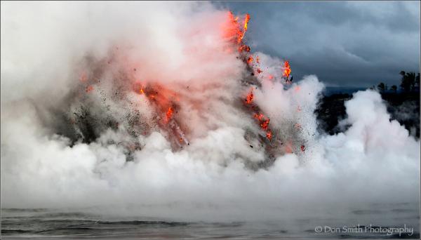 exploding lava, hawaii, kilauea, B&H deals, Singh-