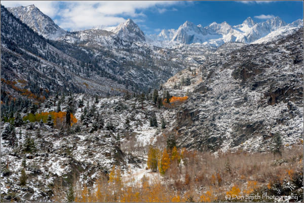 Fist Snow, Bishop Canyon, Eastern Sierra, Californ