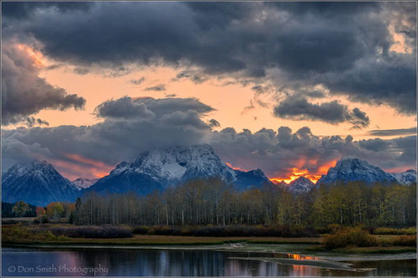 Clearing Storm Over Oxbow Bend, Grand Teton NP