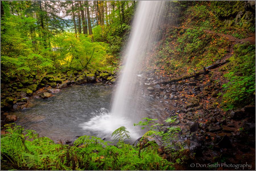 Upper Ponytail Falls, Columbia River Gorge, Oregon