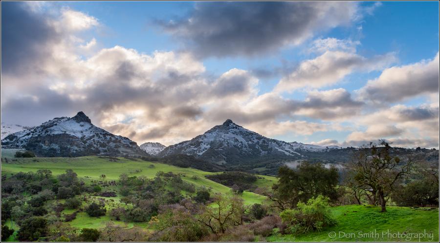 Diablo Hills and Santa Ana Peak, California