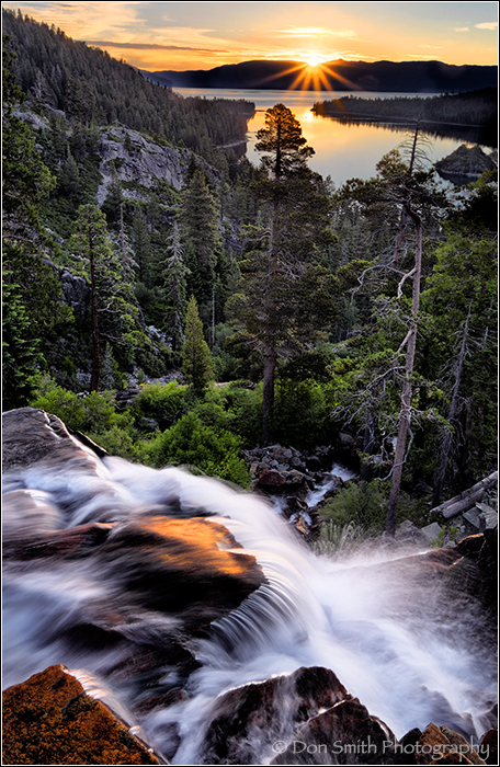Eagle Falls, Emerald Bay, South Lake Tahoe, Califo
