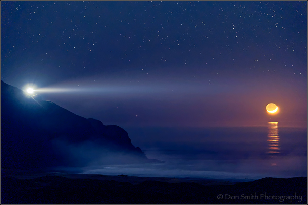 setting crescent moon, pt. sur lightstatin, big su