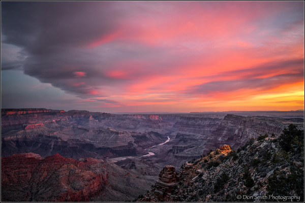 Dawn's Glory, Grand Canyon National Park
