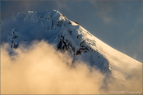 Clearing Morning Storm, Mt. Hood, Oregon