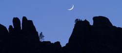 Setting Crescent, Pinnacles National Park