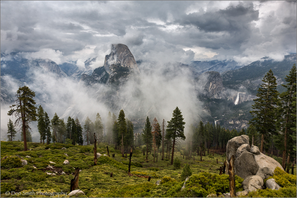 Half Dome and Clearing Storm, Yosemite NP