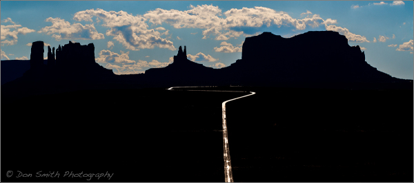 Highway 191 :: Monument Valley, Utah