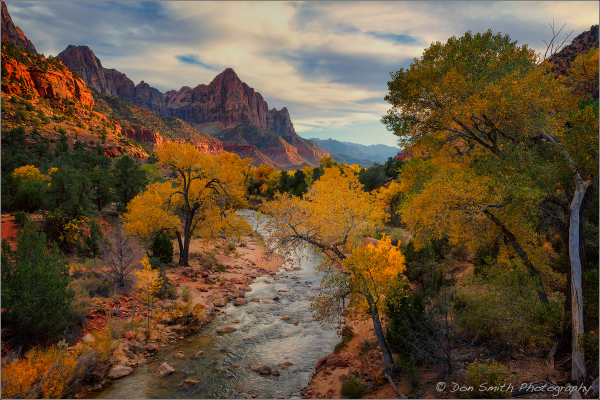 The Watchman and The Virgin River, Zion