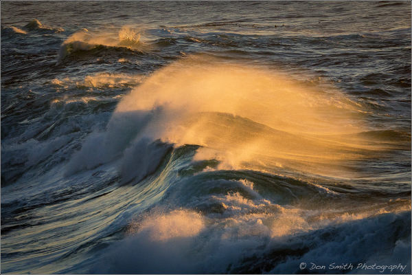 Waves at Big Sur
