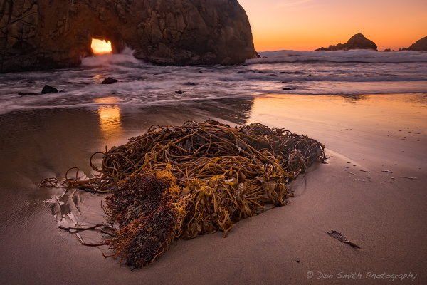 Keyhole Arch, Pfeiffer Beach, Big Sur Coast