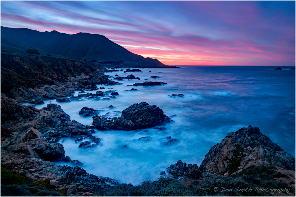 Dawn Light Over Big Sur Coast