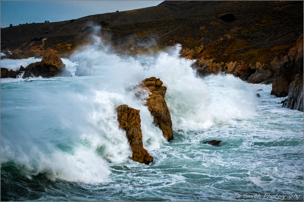 Storm Swells, Soberanes Cove, Big Sur Coast