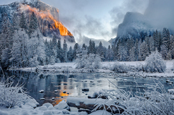 Clearing Storm, Valley View, Yosemite