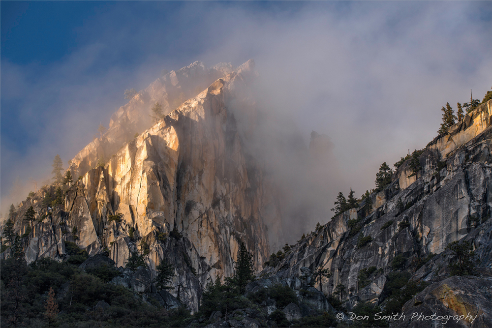 Clearing Storm, Three Brothers, Yosemite NP