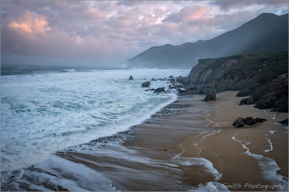 Misty Morning at Garrapata Beach