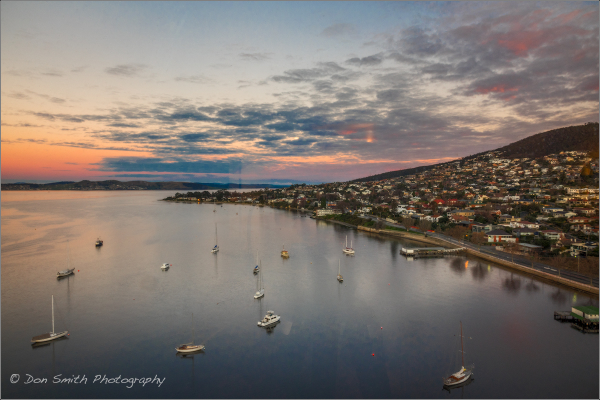 Sandy Bay Sunset, Hobart, Tasmania, Australia