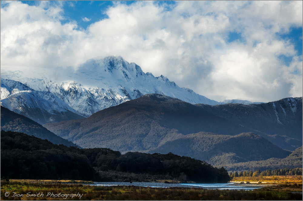New Zealand Southern Alps, Haast Pass