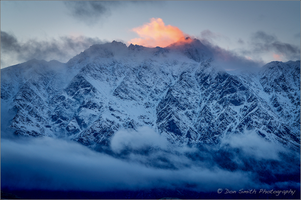First Light, The Remarkables, Queenstown, NZ
