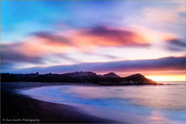 Monastery Beach, Carmel River State Beach