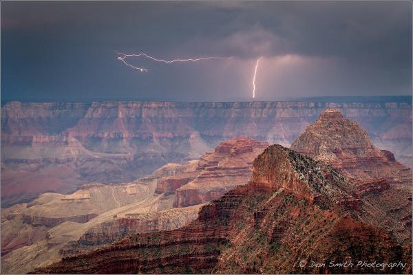 Dual Bolts at Grand Canyon National Park