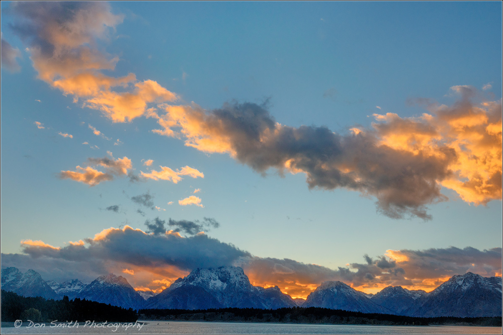 Jackson Lake Sunset, Grand Teton NP
