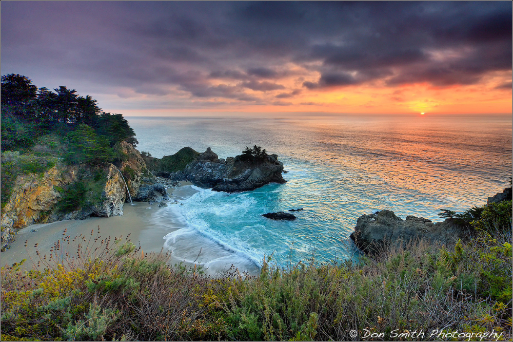McWay Cove, Big Sur Coast