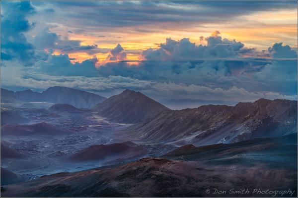Dawn Atop Haleakala, Maui