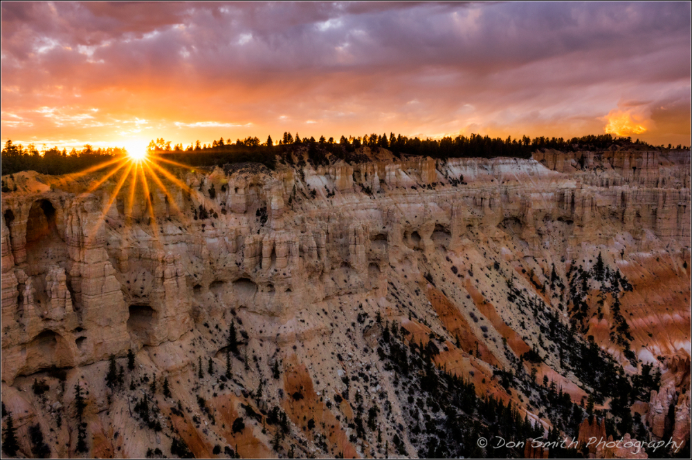 Sunset Over the Catacombs, Bryce Canyon