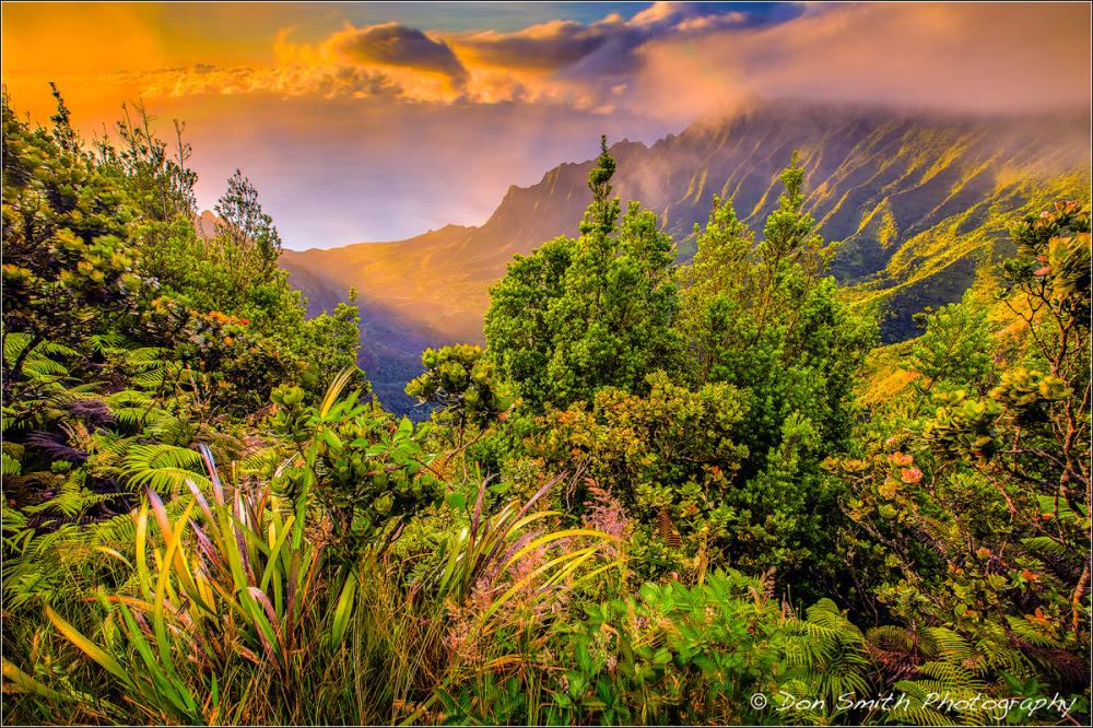 2017 Kauai Photo Workshop :: Kalalau Valley Sunset